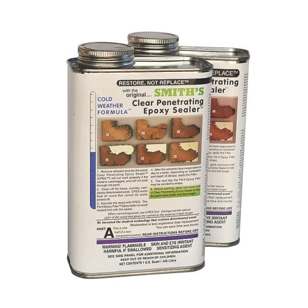 smiths CPES clear penetrating epoxy sealer